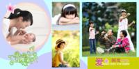 快乐每一天(亲情、校园、全家福、个人写真……)-8x8PU照片书NewLife