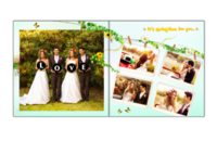 美好的生活—全家福,婚庆,青春—天使宝贝10x10照片书