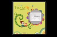幸福宝贝的美丽的世界礼物-8x8水晶照片书