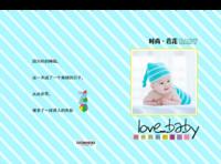 爸爸妈妈的爱-萌娃-宝贝-照片可替换-精装硬壳照片书60p