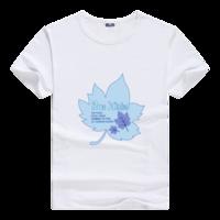 一片叶子母版-男款莫代尔T恤