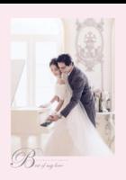 新婚相册-B2单月竖款挂历