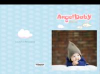 天使宝贝纪念册-8x12对裱特种纸20p套装