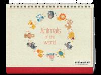 动物园(素年儿童宝宝亲子森林世界)-8寸单面印刷跨年台历
