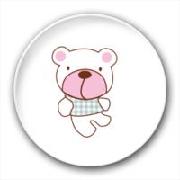 卡通小熊-4.4个性徽章