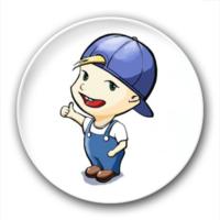 卡通小孩-7.5个性徽章