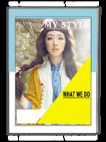 我的风格(封面封底图片替换)-A4杂志册(40P)