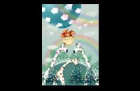 小鹿宝宝·萌娃亲子成长纪念-8*12印刷单面水晶照片书
