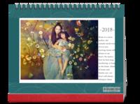 欢乐一家亲(封面及内页图片可替换)-10寸双面印刷台历