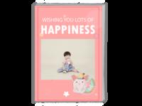 粉色的小宝贝-A4时尚杂志册(24p)