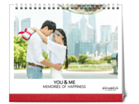 memories of happiness you&me 我们幸福的回忆10dk0111-10寸单面跨年台历
