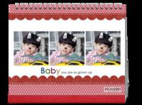 baby宝贝-10寸双面跨年台历