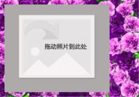 浪漫清新-彩边拍立得横款(18张P)