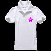 我的青春我做主-女款纯色POLO衫