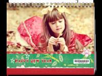 新年快乐-8寸双月单面印刷台历(7页)