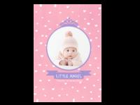 小小天使-可爱小白兔-A4杂志册(24p) 亮膜