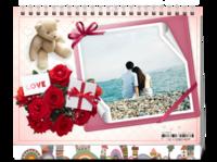 甜蜜幸福的爱情-8寸双面印刷台历