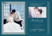 最浪漫的事(青春爱情婚纱、页内照片可替换)-我们的纪念册22p