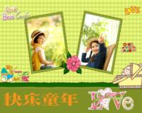 幸福宝贝(封面照片可更换)-10寸木版画横款