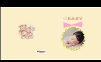 可爱小baby#-方8寸硬壳精装照片书