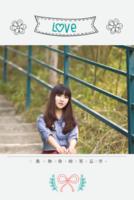我的青春年华#-8x12双面水晶印刷照片书22p