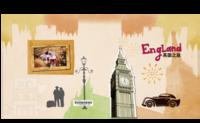 英国唯美旅行--世界旅行 出国旅游-8x8对裱特种纸30p套装