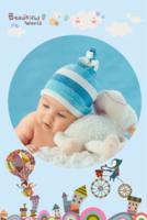 我的异想世界-宝贝儿童照纪念册-8x12双面水晶印刷照片书30p