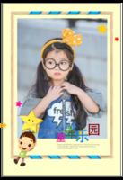 童年乐园-宝宝 男孩女孩 成长日记 成长纪念册-8x12单面水晶印刷照片书30p