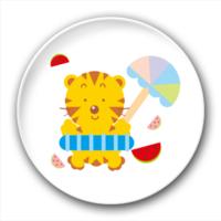 可爱的小老虎-2.5徽章