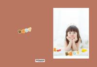 可爱宝贝 萌宝宝 样图可以换-高档纪念册32p