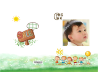 我宝宝的快乐时光-硬壳精装照片书22p