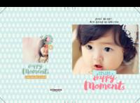 宝宝儿童影集-童年乐园-8x12对裱特种纸20p套装