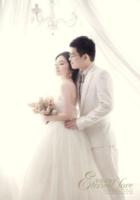 永恒之恋-婚纱照、爱情(装饰可移动、图片可换)-B2单面竖款印刷海报