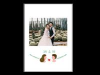 【她和他】我们的故事 送男友送女友 周年纪念-A4杂志册(24p) 亮膜