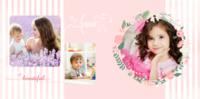 可爱宝宝儿童相册粉嫩-8x8PU照片书NewLife